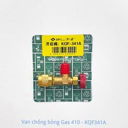 Van khóa chống bỏng Gas 410 HS-1221 đỏ