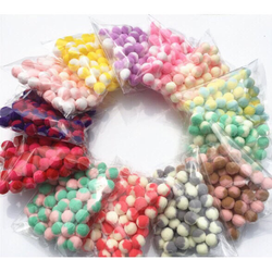 20gr Pompom Pastel 2 Màu-Nguyên liệu Trang Trí Slime