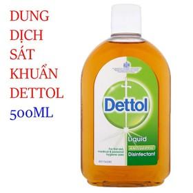 Dung dịch sát khuẩn Dettol 500ml - SP930