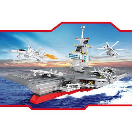 Bộ Lắp ráp mô hình tàu chiến sân bay 6449