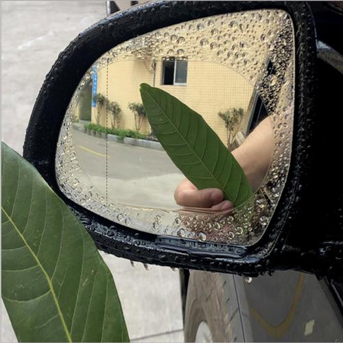 Worldmart miếng dán chống đọng nước gương chiếu hậu ô tô 10cm bộ 2 miếng
