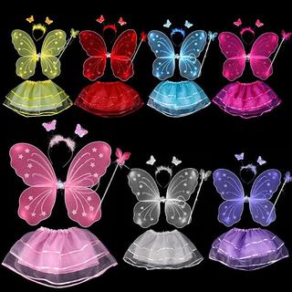 Áo cánh bướm thiên thần cho bé hồng tím - CATIEN thumbnail
