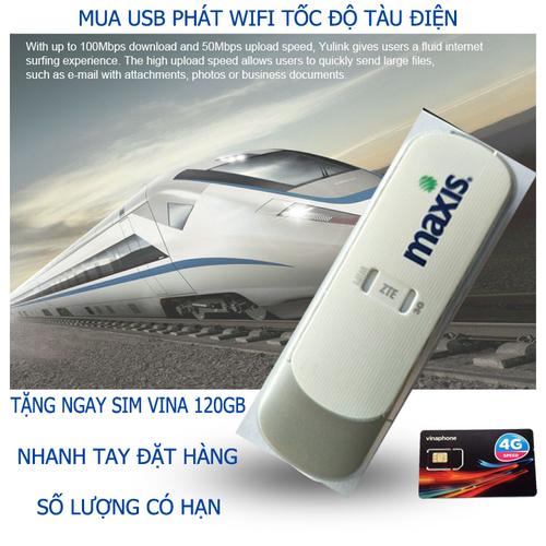 USB phát wifi từ sim 3G 4G hàng chuẩn ZTE,tặng sim 4G Viettel
