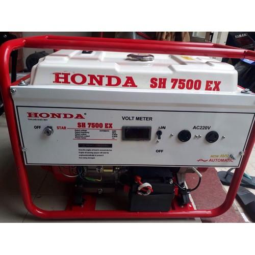 Máy phát điện Honda SH7500EX công suất 6kw, đề nổ, Honda Thái Lan