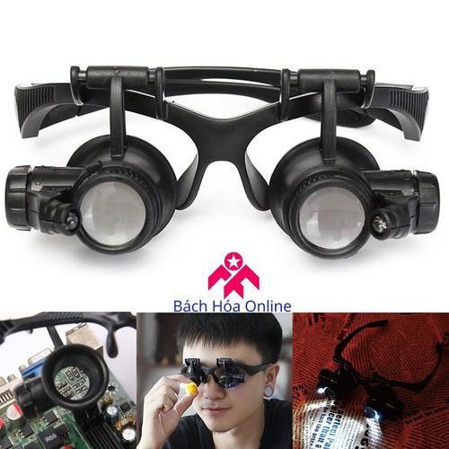 Kính lúp đeo mắt có đèn V2