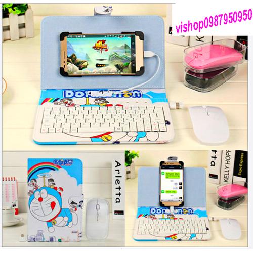 Bao da bàn phím máy tính điện thoại hình Doremon - 6100639 , 12629677 , 15_12629677 , 180000 , Bao-da-ban-phim-may-tinh-dien-thoai-hinh-Doremon-15_12629677 , sendo.vn , Bao da bàn phím máy tính điện thoại hình Doremon
