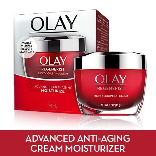 Kem dưỡng Olay Regenerist Anti-Aging Micro Sculpting  Fragrance, 48g - 5229039 , 11568554 , 15_11568554 , 490000 , Kem-duong-Olay-Regenerist-Anti-Aging-Micro-Sculpting-Fragrance-48g-15_11568554 , sendo.vn , Kem dưỡng Olay Regenerist Anti-Aging Micro Sculpting  Fragrance, 48g
