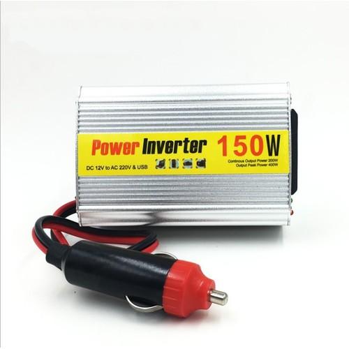 Chuyển nguồn 12v ra 220v 150W cho ô tô - Home and Garden
