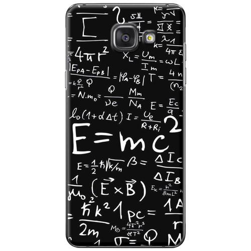 Ốp lưng nhựa dẻo Samsung A7 2016 Toán học