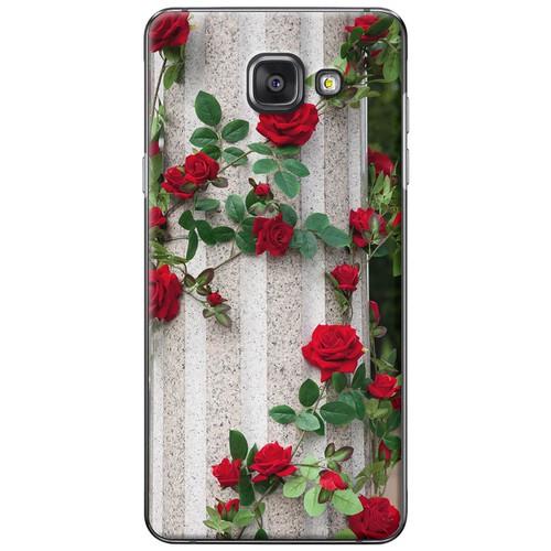 Ốp lưng nhựa dẻo Samsung A7 2016 Hoa hồng