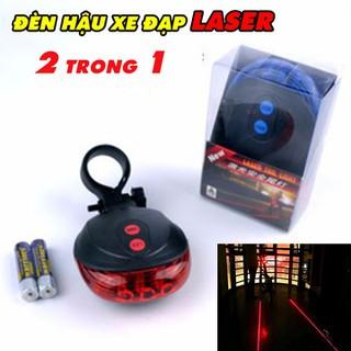 Đèn Hậu Xe Đạp Lazer 2 Trong 1 - LEDXD thumbnail