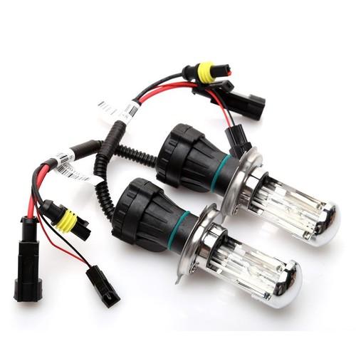 2 bóng đèn thụt thò H4-3   6000k ánh sáng trắng