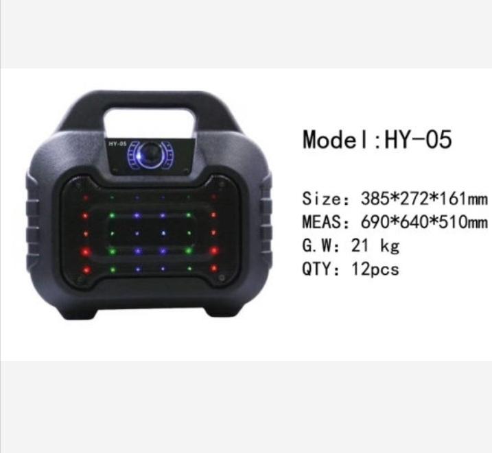 Loa bluetooth HY-05 hay tặng kèm micro dây hát karaoke 2