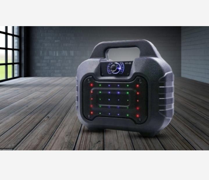 Loa bluetooth HY-05 hay tặng kèm micro dây hát karaoke 4
