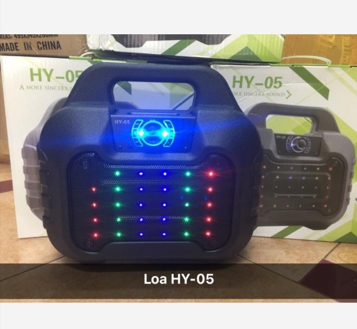 Loa bluetooth HY-05 hay tặng kèm micro dây hát karaoke 5