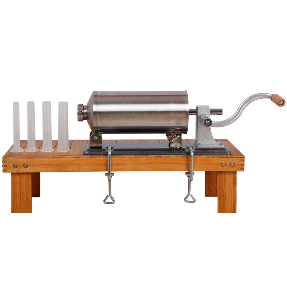 máy đùn xúc xích, lạp xưởng ngày tết - Inox 304 - 3L 5
