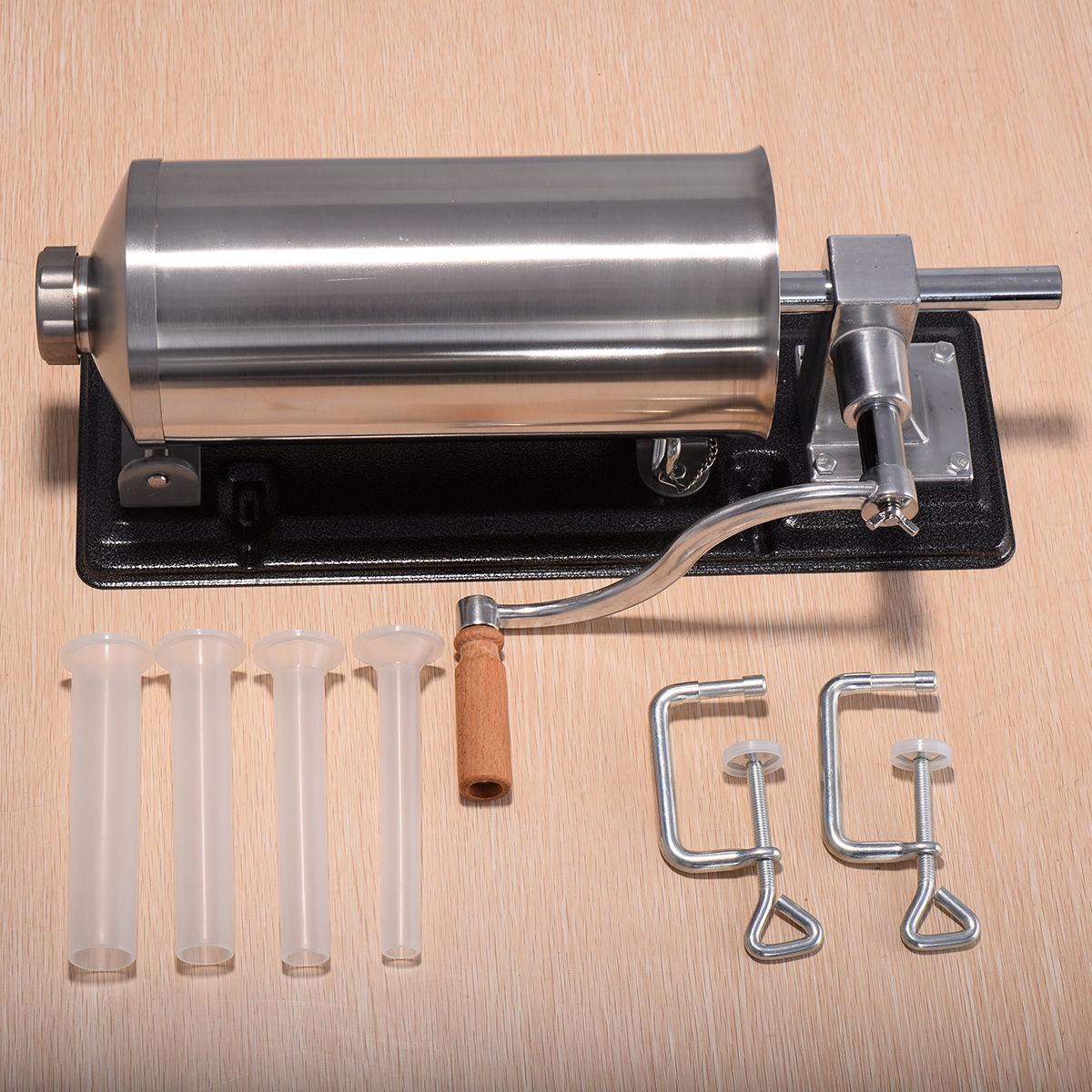 máy đùn xúc xích, lạp xưởng ngày tết - Inox 304 - 3L 6