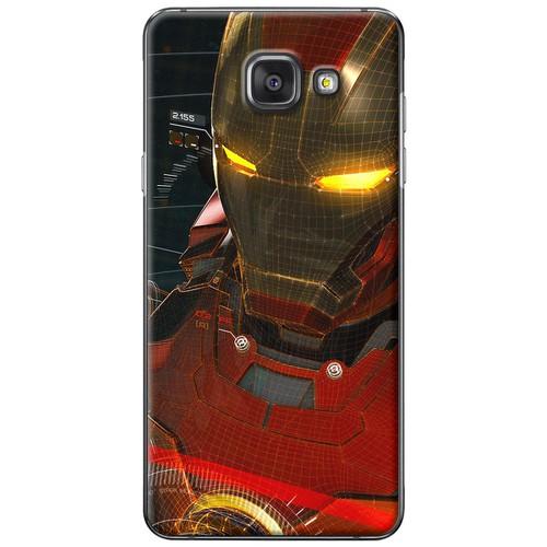 Ốp lưng nhựa dẻo Samsung A7 2016 Iron Man
