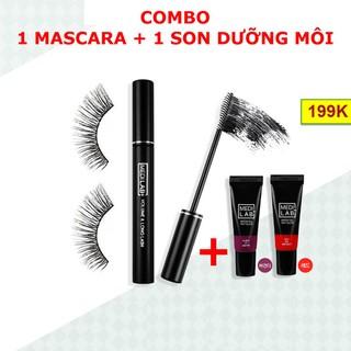 [COMBO] Mascara - Chuốt mi Hàn Quốc + Tặng 1 Son Gel - SP11 thumbnail