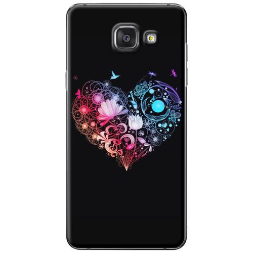Ốp lưng nhựa dẻo Samsung A7 2016 Trái tim