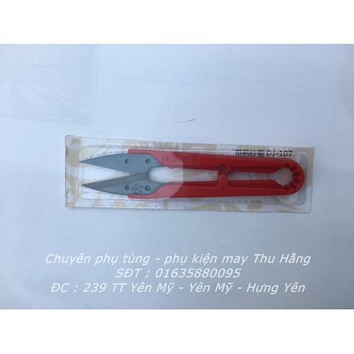 Kéo bấm nhựa đỏ dj-107