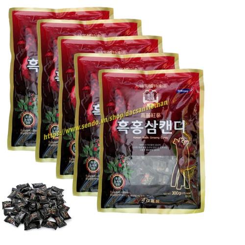 Combo 5 Gói Kẹo Hắc Sâm Hàn Quốc 300g - 10797169 , 11199338 , 15_11199338 , 275000 , Combo-5-Goi-Keo-Hac-Sam-Han-Quoc-300g-15_11199338 , sendo.vn , Combo 5 Gói Kẹo Hắc Sâm Hàn Quốc 300g