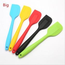 Cây vét bột spatula silicon đúc 28cm