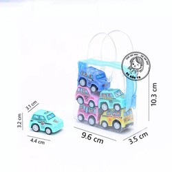 Túi 6 ô-tô cót mini
