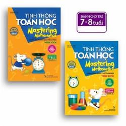 COMBO: TINH THÔNG TOÁN HỌC- DÀNH CHO TRẺ 7-8 TUỔI -QUYỂN A + B