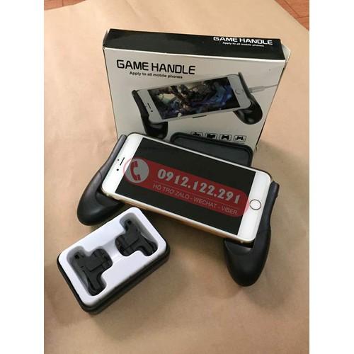 Combo tay cầm chơi game và nút game PUBG