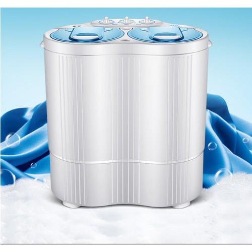 Worldmart máy giặt mini cho bé 1 lồng giặt 4,5kg 1 lồng vắt 3kg