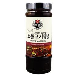 Sốt BBQ Thịt bò Hàn Quốc Nhập Khẩu 500g
