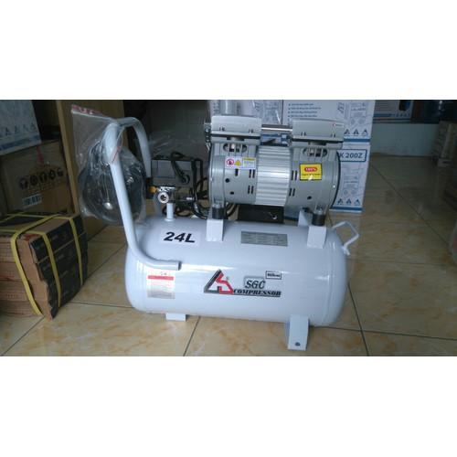 Máy nén khí không dầu SGEI 24L 1HP