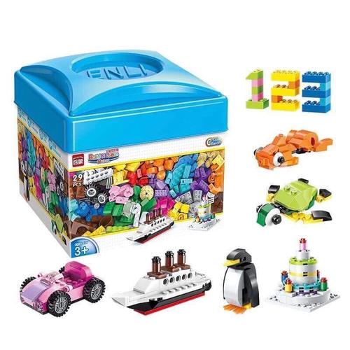 Bộ đồ chơi lắp ráp 460 chi tiết cho bé