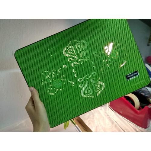 Quạt tản nhiệt + tặng lót chuột tích hợp thổi mát Laptop