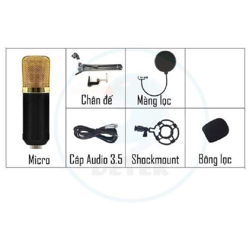 Bộ míc thu âm K600