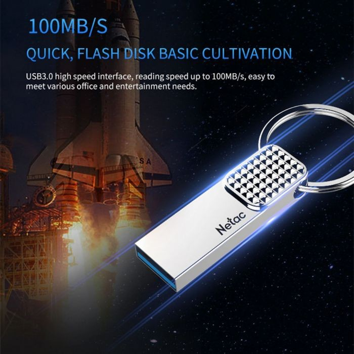 USB Netac U276 U Disk USB 3.0 Flash Drive 32GB màu bạc 2