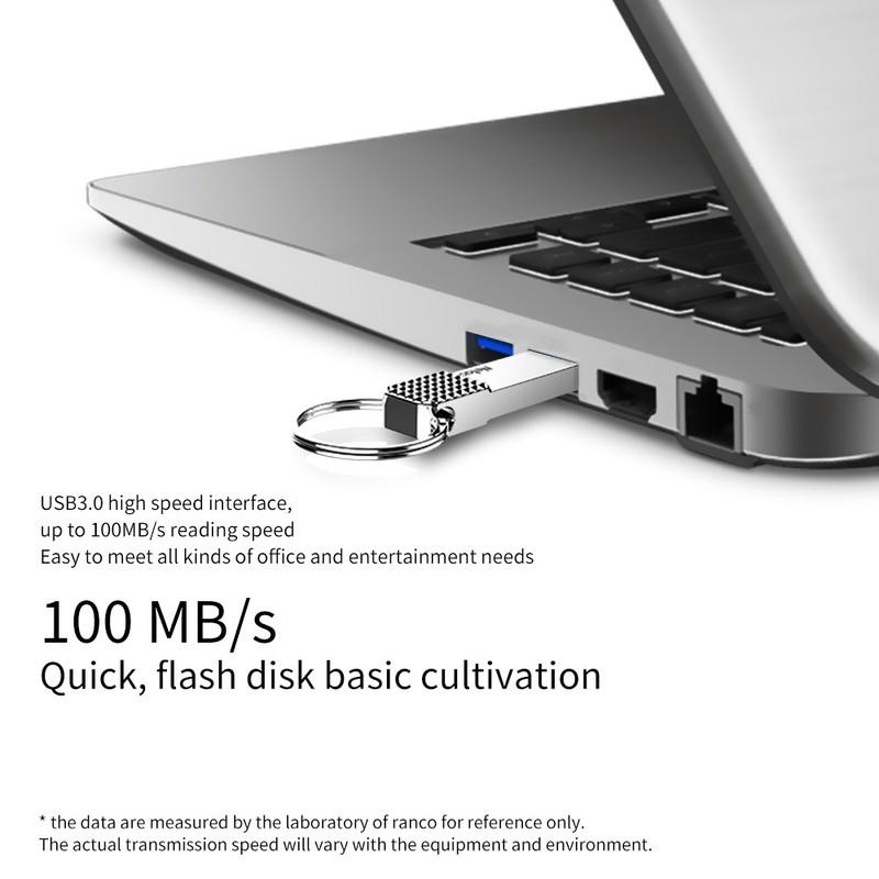 USB Netac U276 U Disk USB 3.0 Flash Drive 32GB màu bạc 3