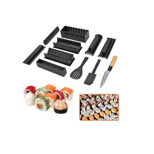 Dụng cụ làm 11 kiểu sushi cực tiện dụng