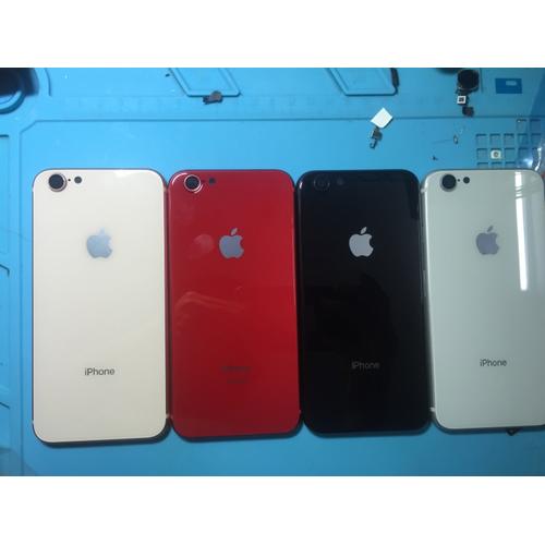 VỎ iPHONE 6  ĐỘ iPHONE 8 MÀU ĐEN ĐỎ TRẮNG HỒNG GOLD