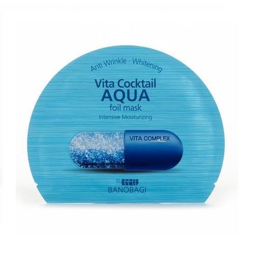 Mặt Nạ Dưỡng Ẩm Vita Cocktail Aqua - Hộp 10 Miếng
