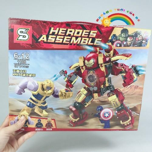 Đồ Chơi Trẻ Em Lắp Ghép Super Hero 1108