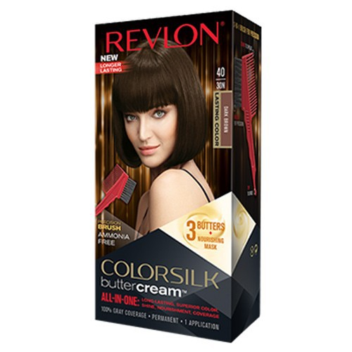 Thuốc nhuộm tóc Revlon ColorSilk Butter Cream, 40 30N Dark Brown - 10806026 , 11235434 , 15_11235434 , 260000 , Thuoc-nhuom-toc-Revlon-ColorSilk-Butter-Cream-40-30N-Dark-Brown-15_11235434 , sendo.vn , Thuốc nhuộm tóc Revlon ColorSilk Butter Cream, 40 30N Dark Brown