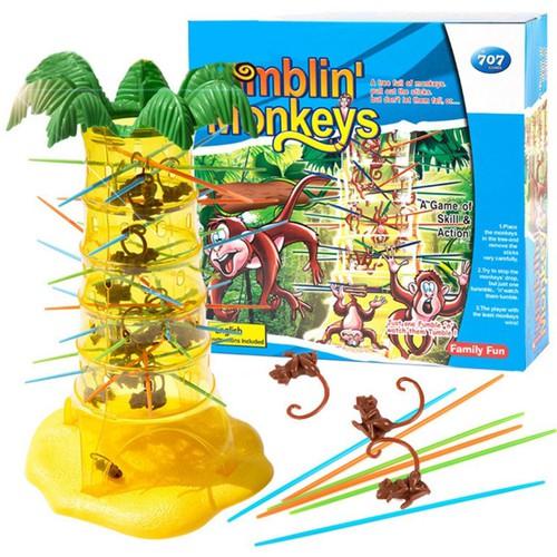 Trò chơi rút khỉ ai rớt khỉ là thua chơi càng đông càng vui