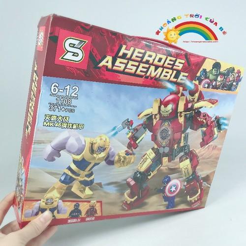 [ Hà Nội | Tp HCM ] Lắp Ghép Super Hero 1108