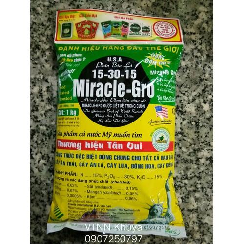Phân bón lá Miracle Gro 15-30-15 1kg