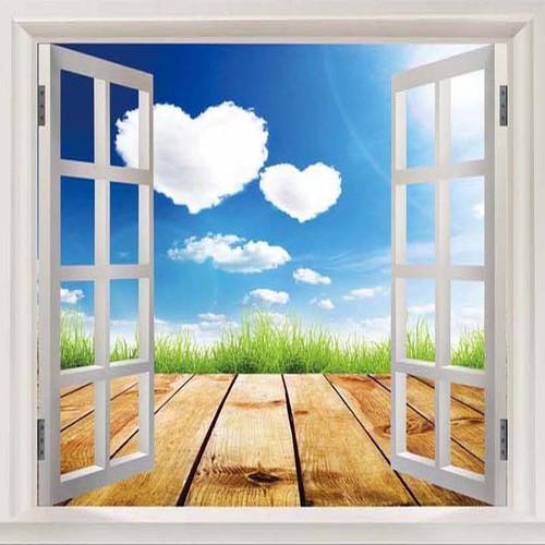 Tranh cửa sổ| Tranh cửa sổ 3D