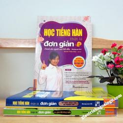 Sách Học tiếng Hàn thật là đơn giản Dành cho cho người mới bắt đầu