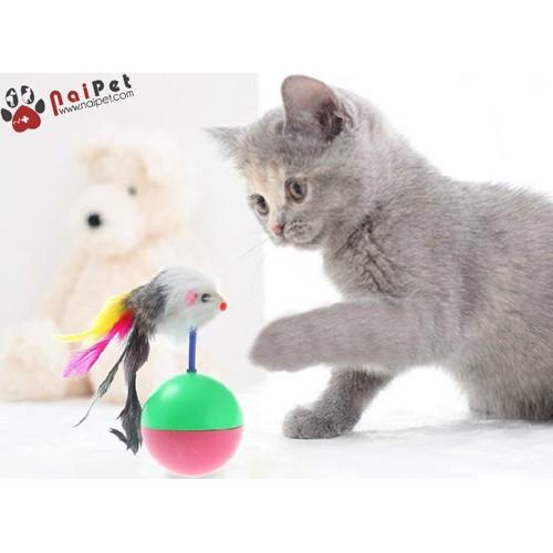 Đồ Chơi Bóng Chuột Lông Lật Đật Cho Mèo - 10803545 , 11225346 , 15_11225346 , 21000 , Do-Choi-Bong-Chuot-Long-Lat-Dat-Cho-Meo-15_11225346 , sendo.vn , Đồ Chơi Bóng Chuột Lông Lật Đật Cho Mèo
