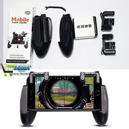 [Bộ 2 sản phẩm] nút chơi game pubg +tay cầm chơi game pubg k01-f3